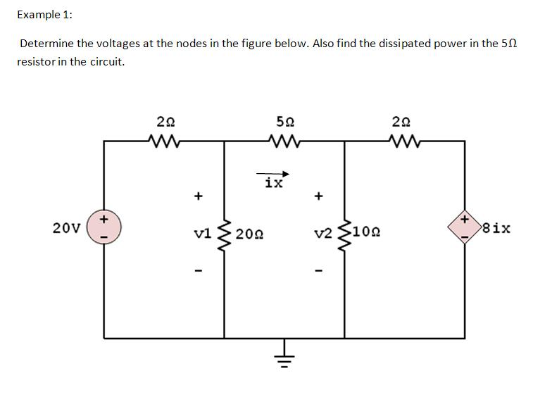 Lesson Six: Nodal Analysis with Voltage Source - Electrical